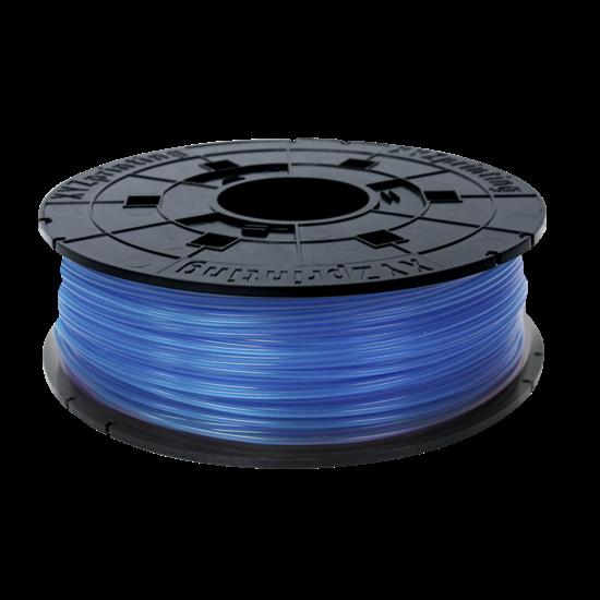 FILAMENT SZPULA 600G PLA CLEAR BLUE REFILL
