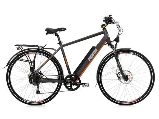 Horn / bateria 13 Ah GEOBIKE rower elektryczny trekkingowy