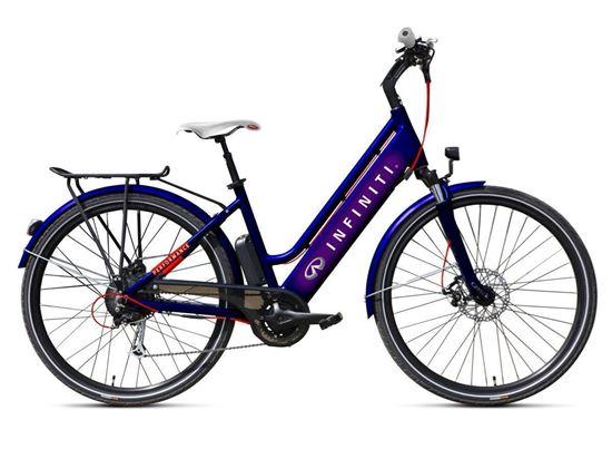Infiniti Performance / bateria 10.4 Ah GEOBIKE rower elektryczny trekkingowy