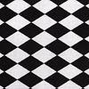 KOCYK MINKY 100x140 cm szary-biało czarne romby