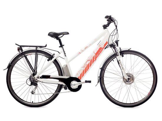 Cabo da Roca / bateria 12 Ah GEOBIKE rower elektryczny trekkingowy