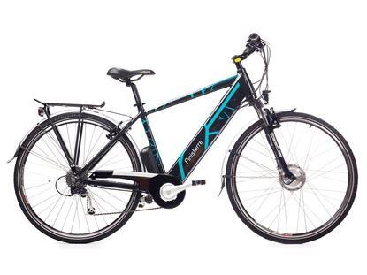 Finisterre / bateria 12 Ah GEOBIKE rower elektryczny trekkingowy