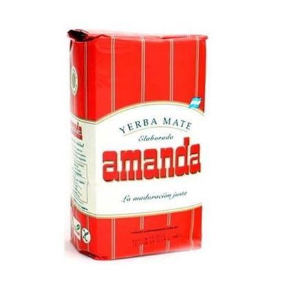 Yerba Mate Amanda elaborada 1kg