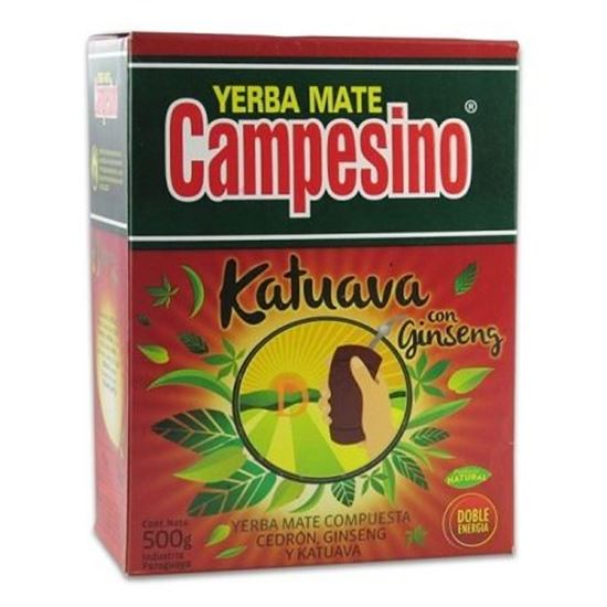 Yerba Mate Campesino Katuava + Ginseng 500g