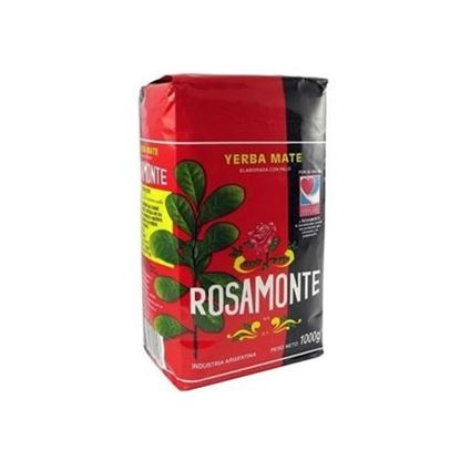 Yerba Mate Rosamonte Elaborada 1kg