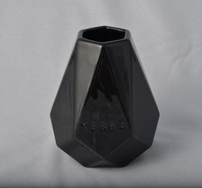 Naczynko Ceramiczne Diament czarne do yerby