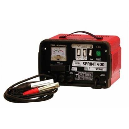 Prostownik do ładowania akumulatorów Ideal SPRINT 400 START