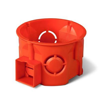 Puszka podtynkowa 60mm czerwona PK-60 0284-00