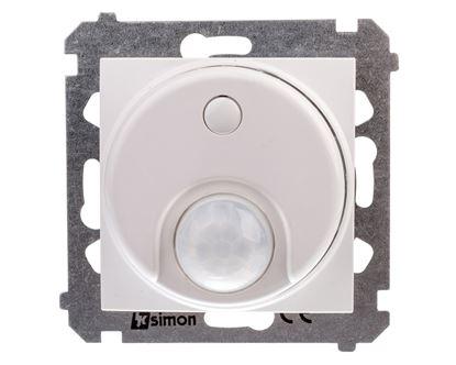 Simon 54 Czujnik ruchu z przekaźnikiem biały DCR10P.01/11