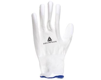 Rękawice High Tech do prac precyzyjnych białe rozmiar 10 VE702P10