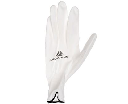 Rękawice High Tech do prac precyzyjnych białe rozmiar 9 VE702P09
