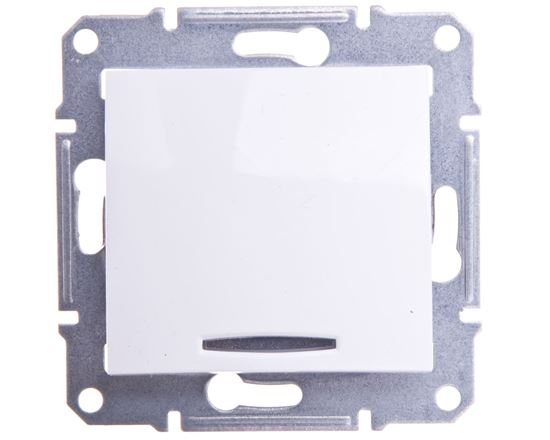 Sedna Przycisk schodowy z podświetlaniem biały SDN1520121