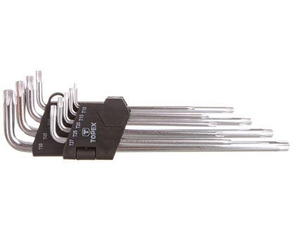 Klucze Torx T10-T50 35D961 /zestaw 9 szt./