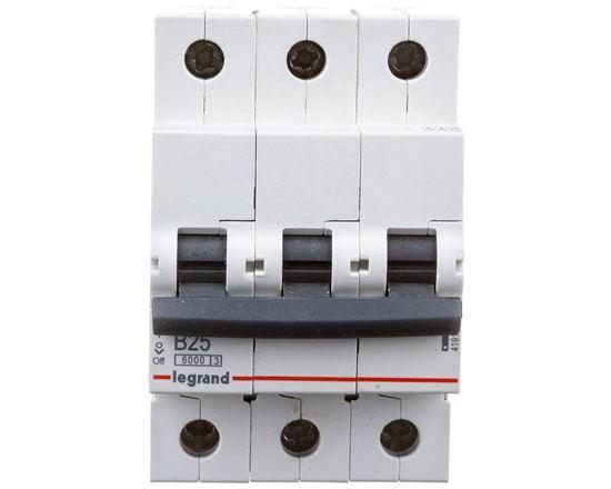 Wyłącznik nadprądowy 3P B 25A 6kA AC S303 RX3 419171
