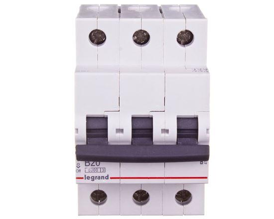 Wyłącznik nadprądowy 3P B 20A 6kA AC S303 RX3 419170