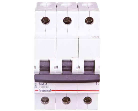 Wyłącznik nadprądowy 3P C 25A 6kA AC S303 RX3 419237