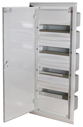 Rozdzielnica modułowa 4x12 podtynkowa /dzwi metal/ IP40 ERP12-4 DIDO 001101206