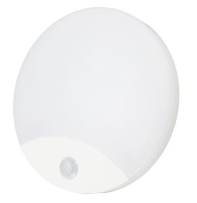 Plafoniera LED TAWAN 10W 4000K 940lm IP44 FI-25cm z czujnikiem ruchu PIR C38-ST41-104-PIR