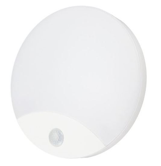 Plafoniera LED TAWAN 10W 4000K 940lm IP44 FI-25cm czujnik PIR C38-ST41-104-PIR