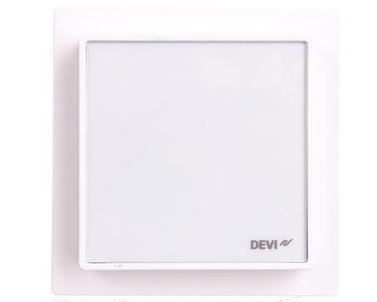 Termostat dotykowy DEVIreg Smart 240V 16A 5-45°C IP21 śnieżnobiały 140F1140