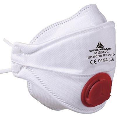Półmaska z filtrem FFP3 z zaworem kolor biały M1304VC /10szt./