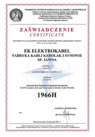 Kabel telekomunikacyjny YTKSY 2x2x0,5 /100m/