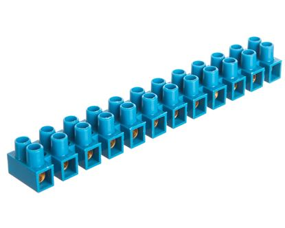 Listwa zaciskowa 12-torowa PA niebieska 4mm2 /10szt./
