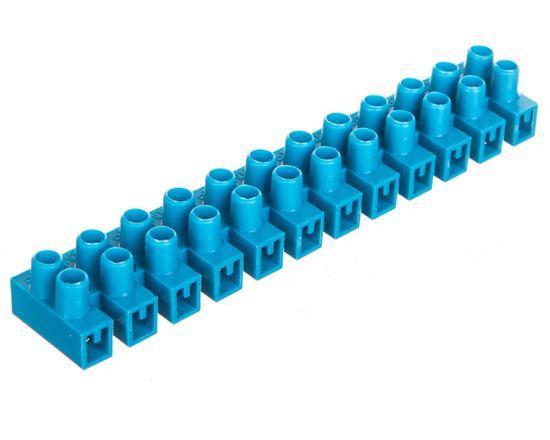 Listwa zaciskowa 12-torowa PA niebieska 2,5mm2 /10szt./