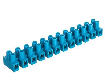 Listwa zaciskowa 12-torowa PA niebieska 6mm2 /10szt./