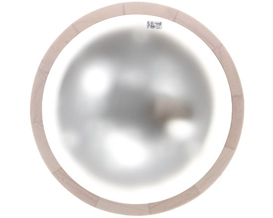 Plafoniera 1x60W E27 kl.I 220-240V IP20 JASMIN 270-W biały dąb 23123