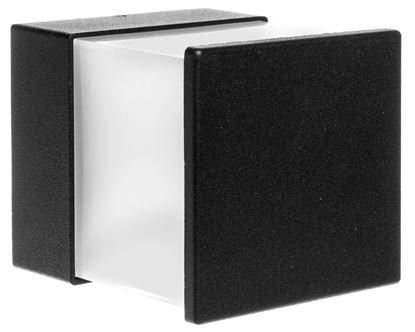 Kinkiet zewnętrzny obudowa z odlewanego aluminium dyfuzor PC mleczny 4×1W LED 4000K 240lm IP54 LP-14-032 LAMPRIX