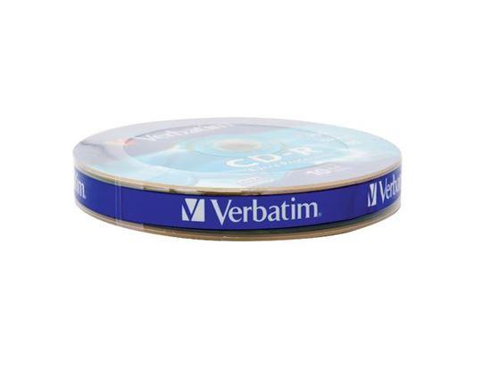 Płyta CD-R VERBATIM 700MB x52 EXTRA PROTECTION WRAP /10 szt./