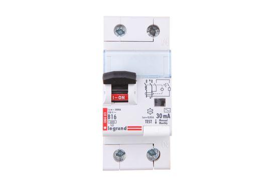 Wyłącznik różnicowo-nadprądowy 2P 16A B 0,03A typ AC P312 DX3 410921