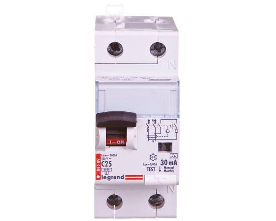 Wyłącznik różnicowo-nadprądowy 2P 25A C 0,03A typ A P312 DX3 411063