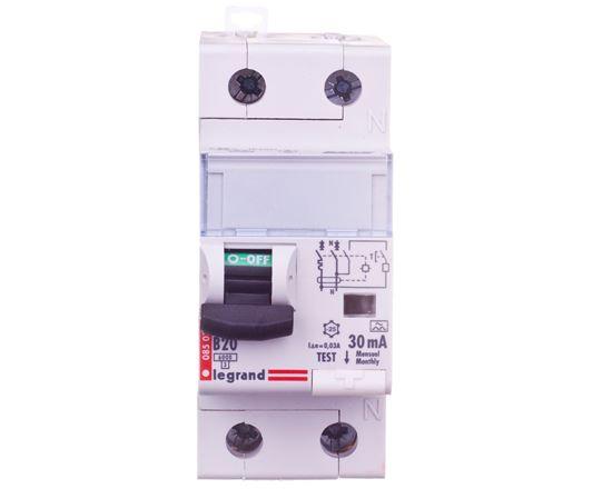 Wyłącznik różnicowo-nadprądowy 2P 20A B 0,03A typ A P312 DX3 410966