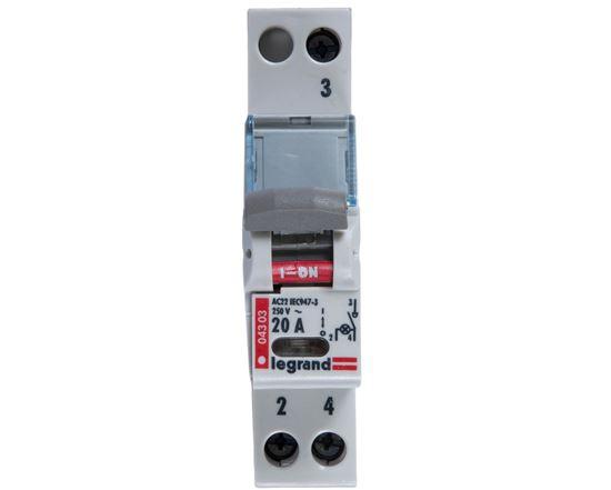 Rozłącznik modułowy 20A 1P FR301 004303/406404