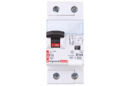 Wyłącznik różnicowo-nadprądowy 2P 16A B 0,03A typ A P312 DX3 410965