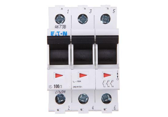 Rozłącznik modułowy 100A 3P IS-100/3 276284
