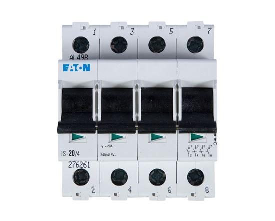 Rozłącznik modułowy 20A 4P IS-20/4 276261