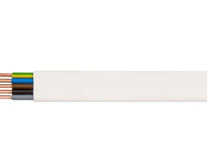 Przewód YDYp 5x4 żo 450/750V /25m/