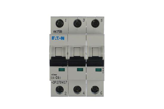 Wyłącznik nadprądowy 3P C 6A 6kA AC CLS6-C6/3-DP 270417