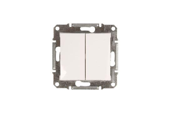Sedna Łącznik świecznikowy 10AX biały IP44 SDN0300421