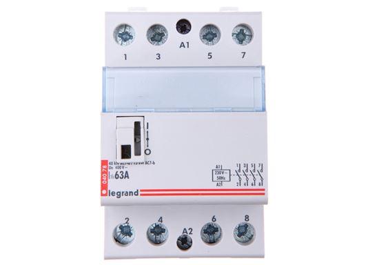 Stycznik modułowy 63A 4Z 0R 230V AC SM363 412541