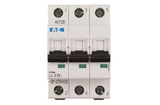 Wyłącznik nadprądowy 3P C 10A 6kA AC CLS6-C10/3-DP 270418