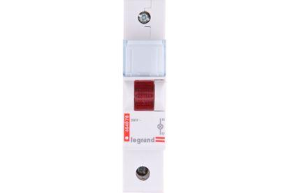 Lampka modułowa czerwona 230-250V AC L311 604078