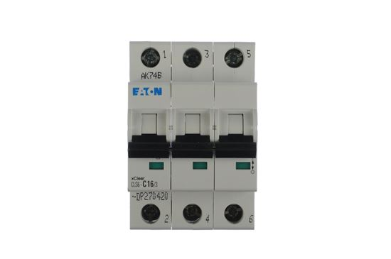 Wyłącznik nadprądowy 3P C 16A 6kA AC CLS6-C16/3-DP 270420