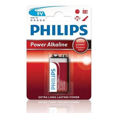 Bateria alkaliczna 6LR61 / 9V POWER ALKALINE 6LR61P1B/10 /blister/