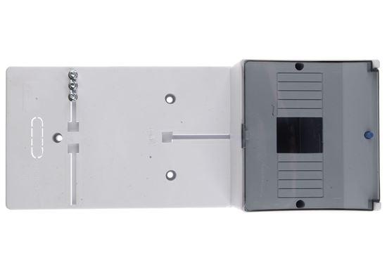 Tablica licznikowa 380x152mm 1F szara TLR-1F 10.2A