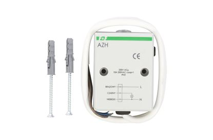 Automat zmierzchowy 10A 230V 2-1000lx obudowa IP65 AZH