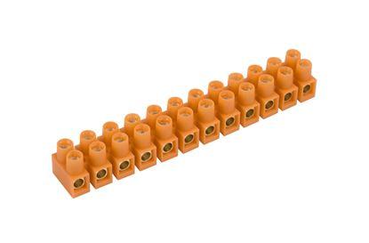 Listwa zaciskowa gwintowa 12-torowa 16mm2 pomarańczowa LTF 12-16.0 21612108